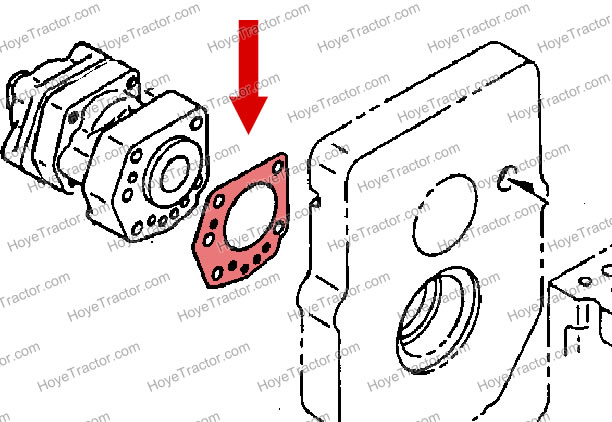 POWERSHIFT VALVE GASKET: Yanmar Tractor Parts