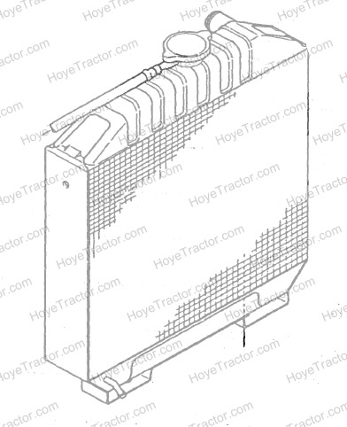 RADIATOR ASSEMBLY: Yanmar Tractor Parts