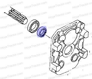 PTO SEAL COLLAR: Yanmar Tractor Parts