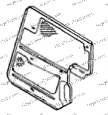 SIDE PANEL SCREEN RH_: Yanmar Tractor Parts