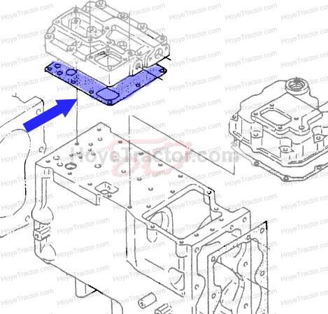 VALVE GASKET: Yanmar Tractor Parts