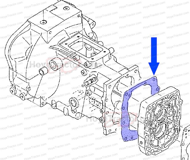 TRANSMISSION GASKET: Yanmar Tractor Parts