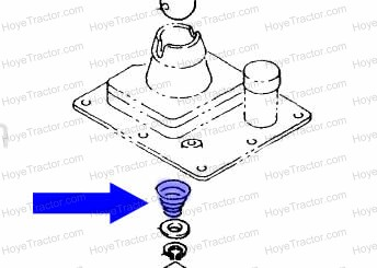 TRANS SHIFTER SPRING _: Yanmar Tractor Parts