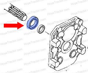 PTO Seal: Yanmar Tractor Parts