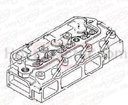 Cylinder Head (NEW!) CH13639 AM877960 CH10656: Yanmar