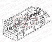 JD850 ENGINE PARTS: Yanmar Tractor Parts