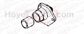 STRG BODY END COVER '00 SERIES _: Yanmar Tractor Parts