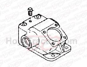 STEERING GEAR BODY '00 SERIES_: Yanmar Tractor Parts