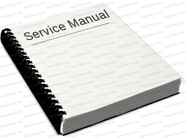 SERVICE MANUAL F SERIES: Yanmar Tractor Parts