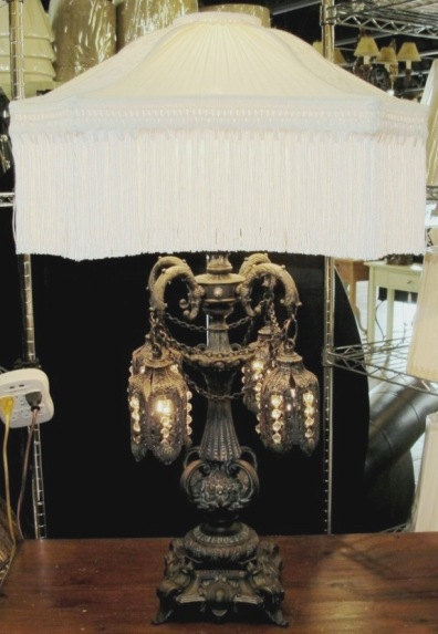 Crystal Floor Vintage Lamp Chandelier