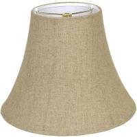 Linen Lamp Shades with Textured Woven Fabrics
