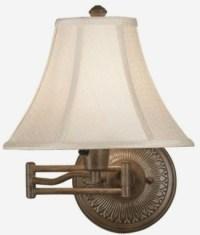 Rustic Wall Lamps - Modern Swing Arm Lamps