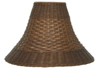 Wicker Lamp Shades Plus Real Rattan, Bamboo, Seagrass
