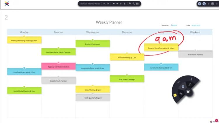 Hoylu Weekly Planner