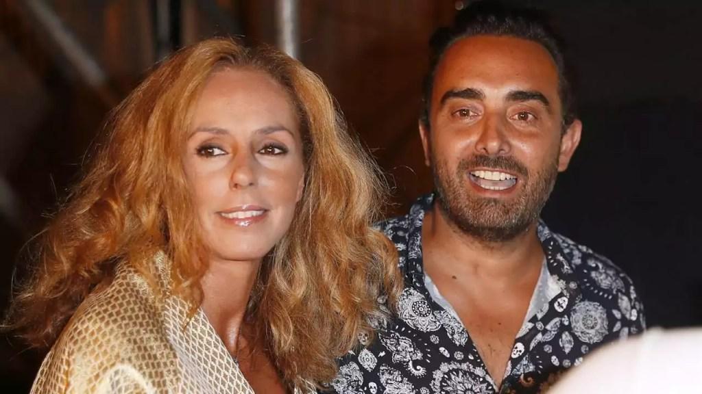 Rocio Carrasco y Fidel Albiac