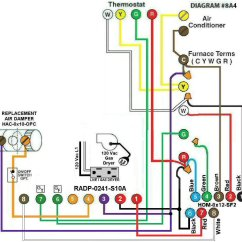 Hvac Wiring Diagram Thermostat Pull Cord Switch Uk Intertherm Sequencer Air