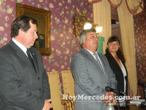 Carlos Selva - Inicio de sesiones del Concejo Deliberante 2013