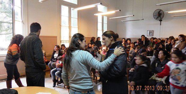 Taller Derecho a la Educación - Programa Ellas Hacen