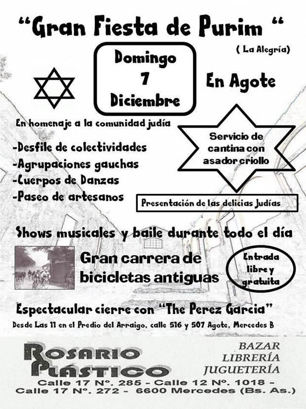 Fiesta del Purim, Agote