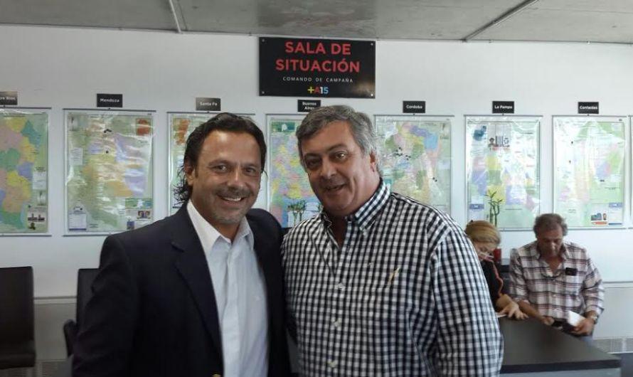 Selva se reunió con Gustavo Sáenz, el gran ganador de las elecciones en Salta Capital