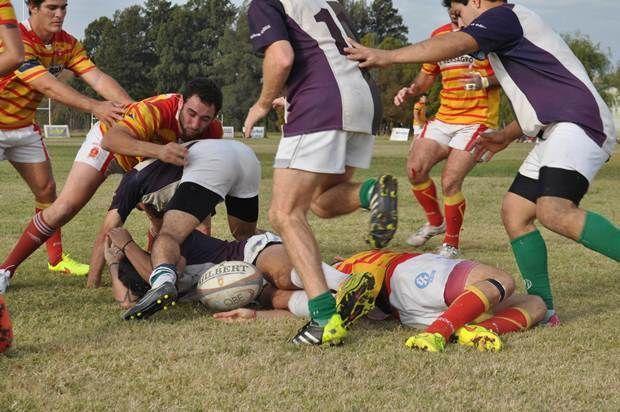 Rugby: Mercedes se recuperó en el Parque y le ganó a Berisso 39 a 0