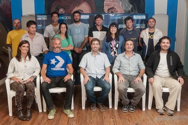 Ustarroz presentó su equipo de trabajo para el deporte mercedino