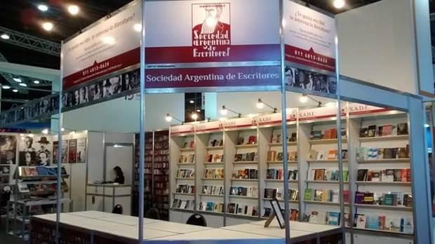 La Sociedad Argentina de Escritores en la Feria del Libro