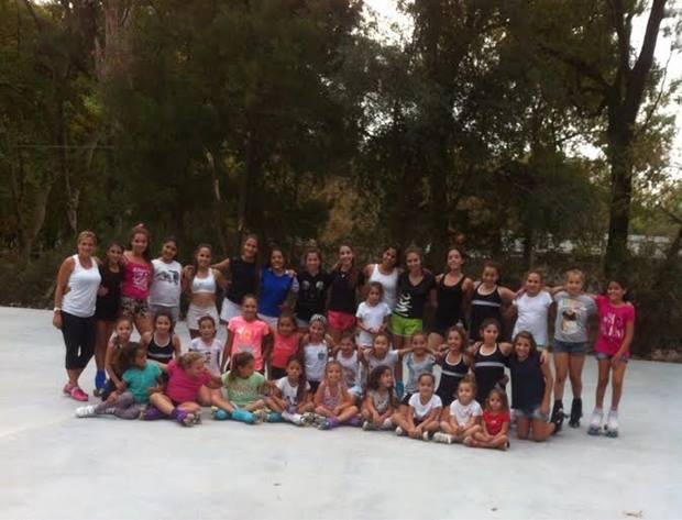 Patín: gran participación de jóvenes mercedinas