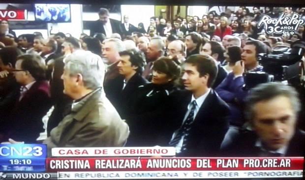 Juan Ustarroz participó del acto de entrega de tierra para ProCreAr encabezado por CFK