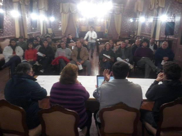 Fomentistas presentaron ante proyecto de presupuesto participativo