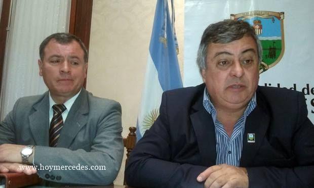 El intendente presentó a Melitón Ginés como nuevo Coordinador de Defensa Civil