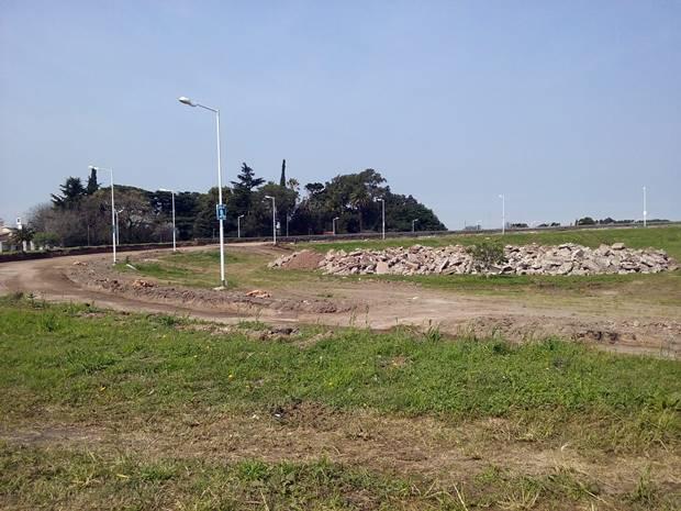 Avanzan las obras de reparación del puente de Ruta Nº41 y Ruta Nº5