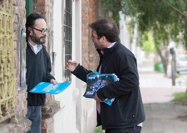 Dematei: «los vecinos reciben con esperanza nuestro plan de gobierno»