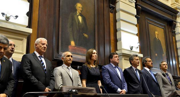 Asumió María Eugenia Vidal en la Provincia de Buenos Aires