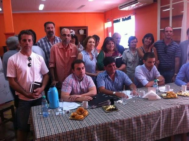 Mercedinos en encuentro con Director de Vialidad Nacional tratando realidad de las rutas regionales