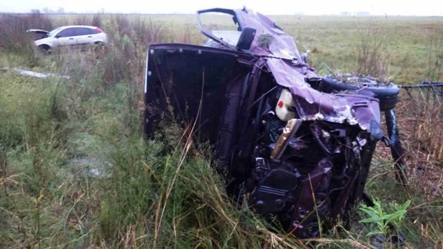 Accidente fatal sobre Ruta 5: un muerto por el fuego y varios heridos
