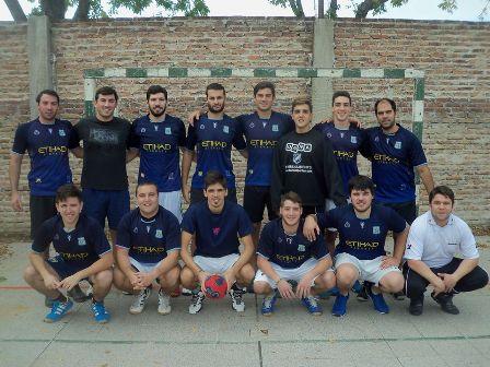 El equipo de handball Gas Pimienta