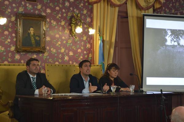 Los proyectos que dio a conocer Ustarroz en la apertura de sesiones