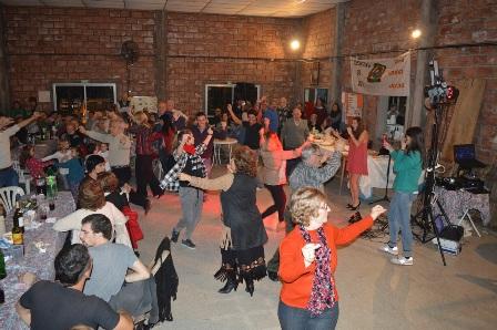 Fiesta solidaria en el Hogar Granja Arco Iris