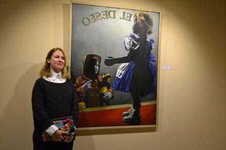 Marcela Cueto ganó el Salón de Pinturas de Mercedes