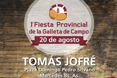 La Fiesta de la Galleta de Campo será el 20 de agosto