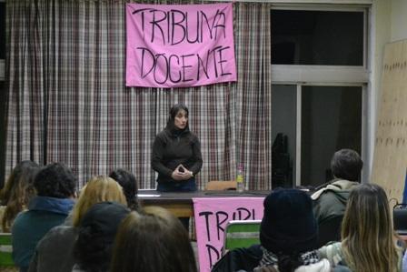 Romina Del Plá: «Paramos en todo el país por la reapertura de la paritaria salarial»