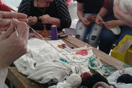 Clases de tejido para las internas