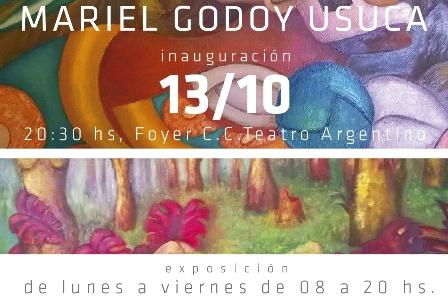 Los «Sueños» deMariel Godoy Usuca en el foyer