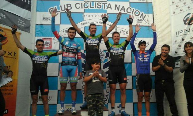 Fernando Antogna se quedó con el Criterium de Apertura