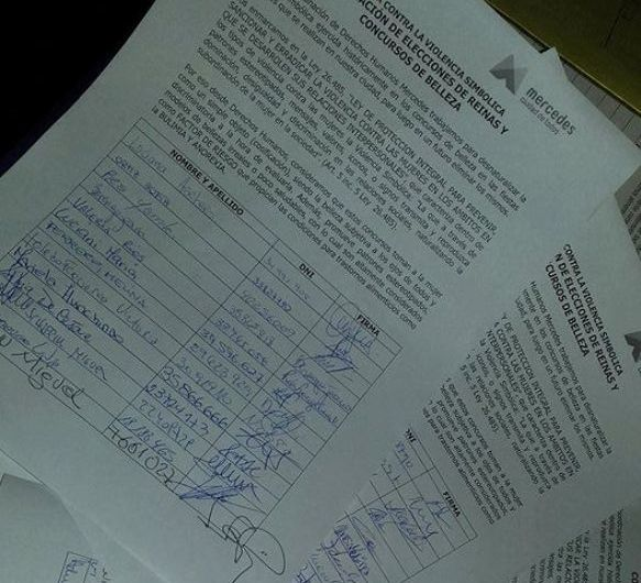 Juntan firmas para eliminar las elecciones de reinas y concursos de belleza