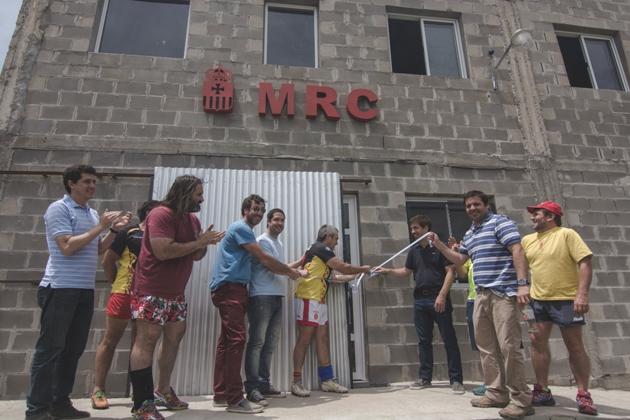 Inauguraron las obras del Mercedes Rugby Club