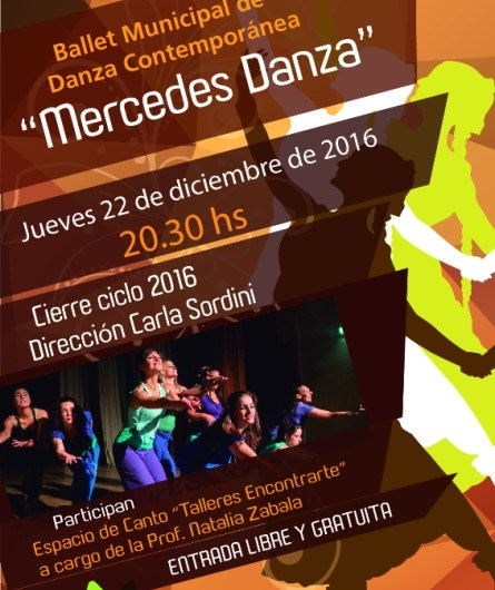 Cierre del año para Mercedes Danza