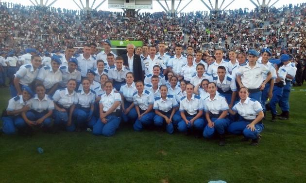 Aspirantes de Policía Local participaron de acto en La Plata