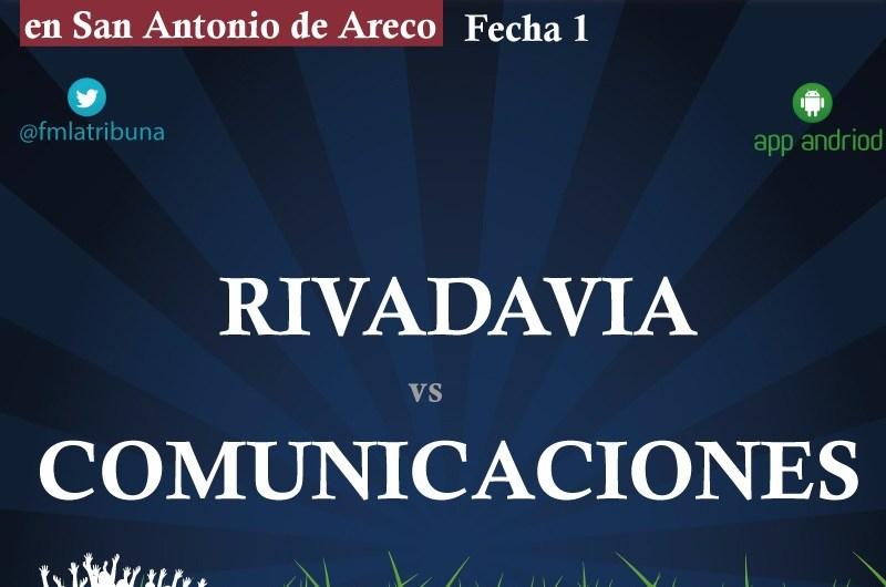 Comunicaciones debuta el sábado ante Rivadavia